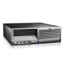 HP DC7100 SFF - Pentium 4 520 à 2.8 Ghz - DVD + GRAVEUR  - Win XP PRO