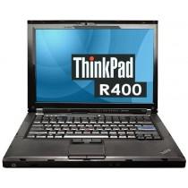 """LENOVO thinkpad R400 Core 2 Duo P8400 - 2.26Ghz - 4096Mo - 160Go - 14"""" Wide avec WEBCAM - DVD+/-RW- Win 7 installé - GRADE B"""