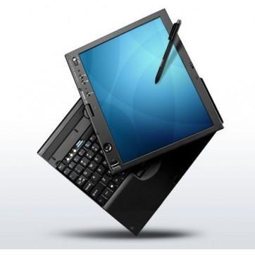 "TABLET PC LENOVO x61T Core 2 Duo L7500 - 1.66Ghz -2048Mo -80Go - 12"" XGA - WiFi - Windows 10 Home"