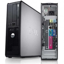 DELL Optiplex 780 - Intel Dual core E5700 à 3Ghz - 4Go / 250Go - DVD - Windows 10 installé
