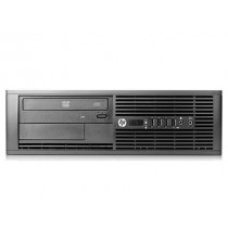 HP PRO 6000 SFF - Intel Core 2 duo E8400 à 3Ghz  - 4Go - 250Go - DVD+/-RW  - licence Windows 7 PRO