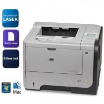 HP LASERJET P3015DN  128Mo - 40Ppm - RESEAU, Recto-Verso et double bac - QUASI NEUVE :  2650 copies seulement
