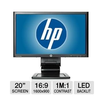"Moniteur Pro HP LA2006X 20"" 16/9 LED 1600*900"