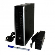 MiniPC HP ELITE PRO 8000 USDT - Core 2 duo à 3.16Ghz - 4Go - 250Go - DVD+/-RW - Win 10 64bits