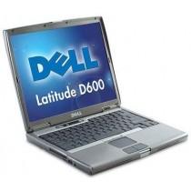"DELL latitude D600 PM centrino 1.6Ghz - 14"" - 512Mo - 30Go - DVD-GRAVEUR -WiFi - Win XPPRO installé"