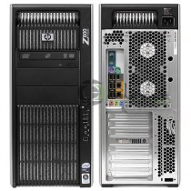 Station Graphique HP Workstation Z800 - Hexa-Core Xeon 2.8Ghz - 16Go - 500Go - QUADRO 4000 - Win 10 64Bits