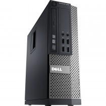 DELL Optiplex 7010 - INTEL CORE I7 QUAD - 3770 à 3.4Ghz - 8Go / 500Go - DVD+/-RW - Windows 10 installé