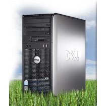 DELL Optiplex 380 TOUR - DUAL CORE à 2.6Ghz - 3Go / 500Go DVD+/-RW - licence Windows 7 PRO