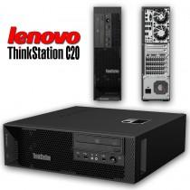 ThinkStation LENOVO C20 - BI - Xeon HEXA à 3.4Ghz - 96Go - 300Go + 450Go SAS 15K - QUADRO 4000- Win 10 64bits