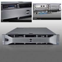 DELL POWEREDGE R710 RACK  2U - BI - HEXA CORE XEON X5650 à 2.6Ghz - 128Go RAM - 2*146Go - DVD - 2 alims