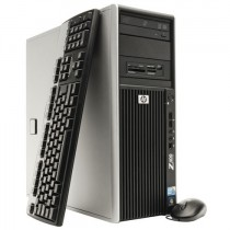 Station Graphique HP Workstation Z400  - Quad-Core Xeon 2.66Ghz  - 8Go -2 x 1000Go  - QUADRO - Windows 10 64bits