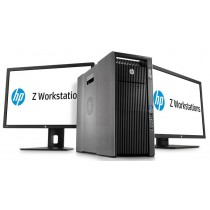 HP  Z820 Workstation - BI-XEON HEXA-CORE E5-2630 V2  à 2.6Ghz - 32Go - QUADRO K4000 3Go - Windows 10 64Bits + 2 x LCD 23 HP