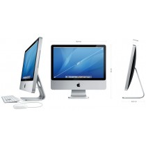 "APPLE IMAC 7.1 - 24"" - CORE 2 DUO à 2.4Ghz 4Go -  320Go HDD  - DVD - LED 24"" FHD  -  OS X"