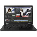 "Station HP ZBOOK 17 - I7-4800QM à 2.7Ghz - 16Go - 256Go SSD + 750Go - 17.3"" FULL HD + WEBCAM + K3100 + Win10 PRO 64bits"