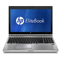 "HP Elitebook 8560P -CORE I7 2620M à 2.7Ghz - 8Go - 480Go SSD - 15.6"" HD + WEBCAM- USB 3.0 - DVD+/-RW - Win 10 PRO"