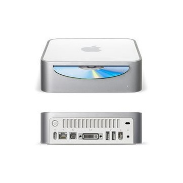 APPLE MAC MINI - Intel Core - 1.5 Ghz - 1Go - 60Go - DVD-GRAVEUR -OS 10.4 Pret à l'emploi