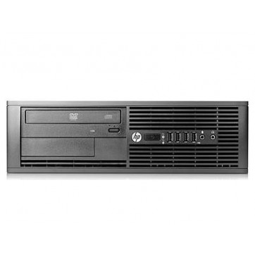 HP PRO 6000 SFF - Intel Core 2 duo E8400 à 3Ghz - 4Go - 250Go - DVD+/-RW - licence Windows 7 PRO