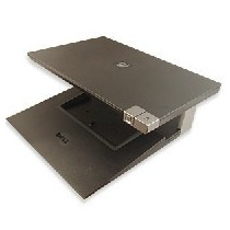 Support ECRAN DELL  0PW395 avec DOCKING STATION DELL E-port PR03X