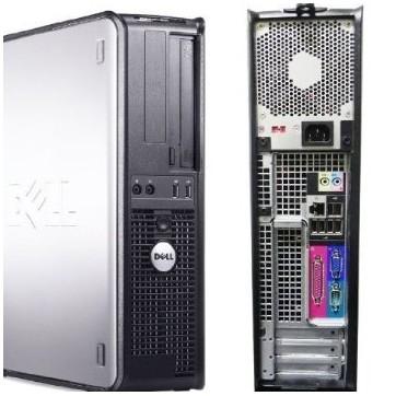 DELL Optiplex 760 SD - intel DUAL CORE E5300 à 2.6Ghz - 4Go / 160Go - DVD - licence VISTA PRO