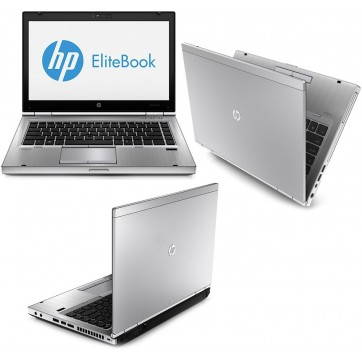 "HP Elitebook 8470P -I5 3210M à 2.5Ghz - 8Go - 320Go - 14"" + WEBCAM - USB 3.0 - DVD  - Windows 10 64bits installé - GRADE B"