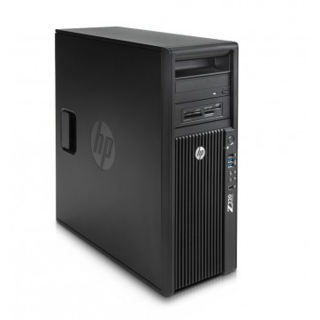 Station Graphique HP Workstation Z220 - Core I7 QUAD -3770 à 3.4Ghz - 16Go - 240Go SSD + 500Go 10K - QUADRO 2000 - Win 10 64bits