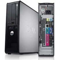 DELL Optiplex 745 SFF - Intel DUAL CORE 1.8 Ghz - 2Go / 80Go - DVD+/-RW - Windows XP PRO