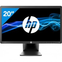 "Moniteur HP EliteDisplay E201 20"" 16/9 LED 1600*900 - 5Ms - DVI-VGA - DISPLAYPORT - Hub USB"