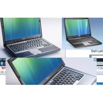 DELL LATITUDE D630 Core 2 Duo T7500 - 1024Mo - 80Go - DVD+/-RW - PORT COM RS232 - Licence Vista PRO