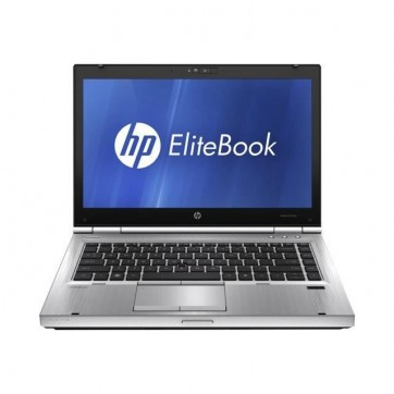 "HP Elitebook 8460P -CORE I5 2520M 2.5Ghz - 4Go - 500Go - 14"" HD avec WEBCAM - USB 3.0 - DVD+/-RW - Windows 10 64bits - GRADE B"