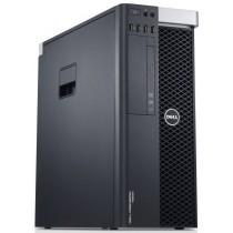 DELL T5810 - XEON E5-1607 V3 à 3.1Ghz - 16Go 128Go SSD + 500Go - QUADRO K620 - Windows 10 64Bits installé - garantie 24 mois