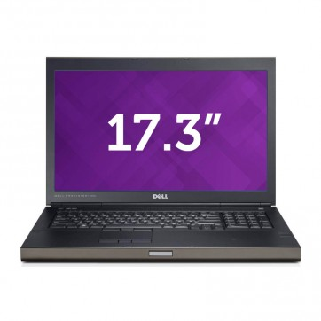 "Station graphique DELL M6800 - Core I7 4610M 3Ghz -16Go-256GoSSD+500Go- 17.3"" F HD + WEBCAM  + K3100M 4Go + Win 10 64bits"