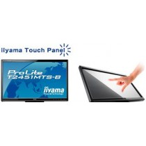 "Moniteur LCD 24"" TACTILE IIYAMA - ProLite T2451MTS Noir FULL HD 1920*1080 LED - DVI, HDMI - sans pied"
