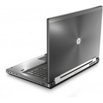 """Station graphique HP 8570W - I7 quad à 2.7Ghz - 16Go - 128Go SSD + 500Go - 15.6"""" FHD - QUADRO 2Go - Win 10 64bits - GRADE B"""