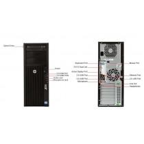Station HP Workstation Z230 - XEON E3-1240 V3 à 3.4Ghz - 16Go - 256Go SSD + 2*2To - QUADRO K2000 - Win 10 64bits
