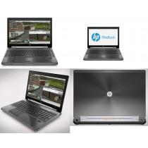 "Station graphique HP 8570W - CORE I7 à 3.6Ghz - 16Go - 128GoSSD + 500Go - 15.6"" Full HD - QUADRO K1000M - Win 10 64bits"