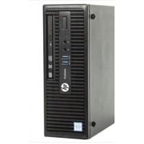 HP Elitedesk 400G3 SFF - CORE I5 6500 à 3.2Ghz - 8Go - 500Go - DVD - Win 10 64bits