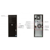 Station HP Workstation Z230 - Core I7 QUAD -4770 à 4Ghz - 32Go - 180Go SSD + 500Go - QUADRO K2000 - Win 10 64bits