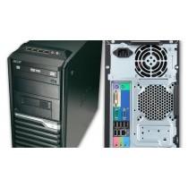 ACER VERITON M4630G - CORE I7 QUAD 4770 à 3.9Ghz - 16Go -240Go SSD + 2000Go - DVD+/-RW - Windows 10 installé